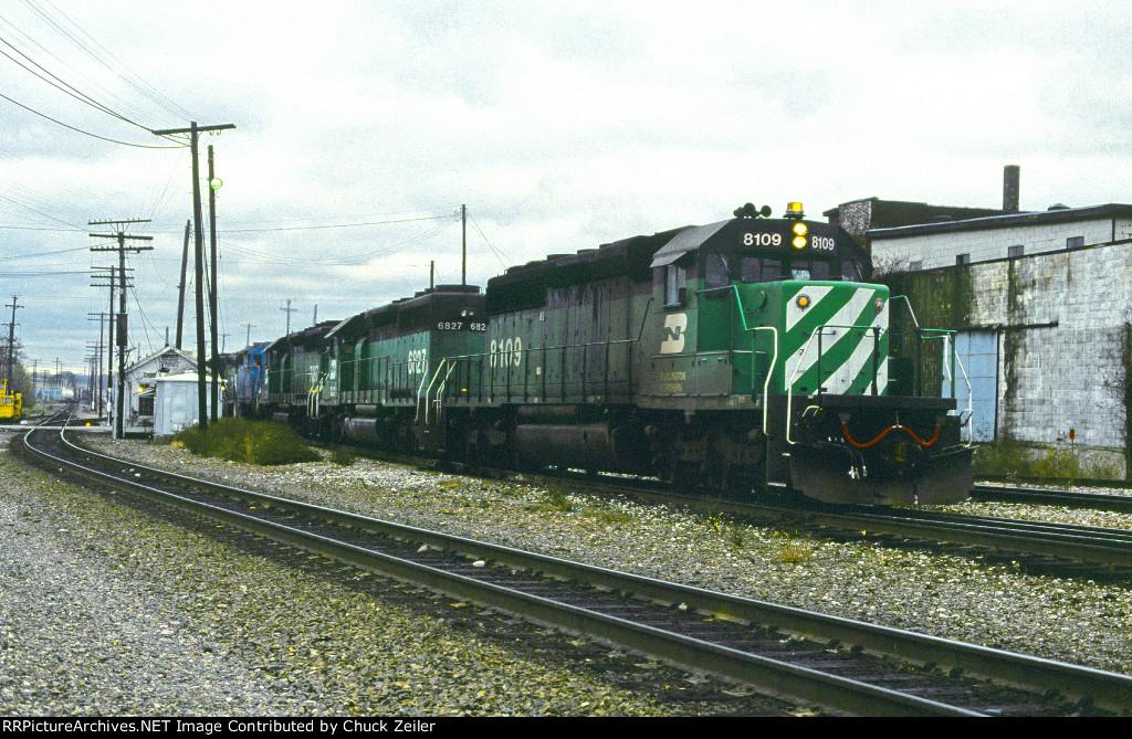 BN SD40-2 8109