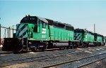 BN SD40-2 6731