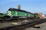 BN SD40-2 7102