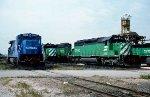BN SD40-2 7915