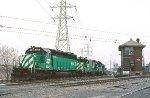 BN SD40-2 8005