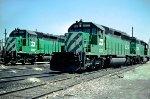 BN SD40-2 8019