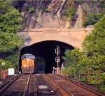 CSX 3133 through the Maryland Heights Tunnel