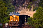 CSX 3133 through the Maryland Heights Tunnel and over the Potomac River