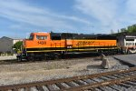 BNSF 1438 fresh painted at santa fe jct