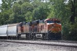 BNSF 3991 with the TULGAL stopped