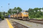 UP NB freight with leasor