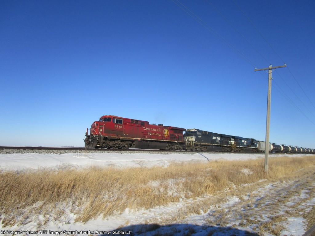 CP 9619, NS 8160 + 7703
