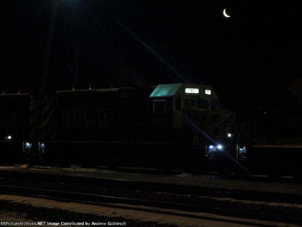 RRVW 2051 in the Dark