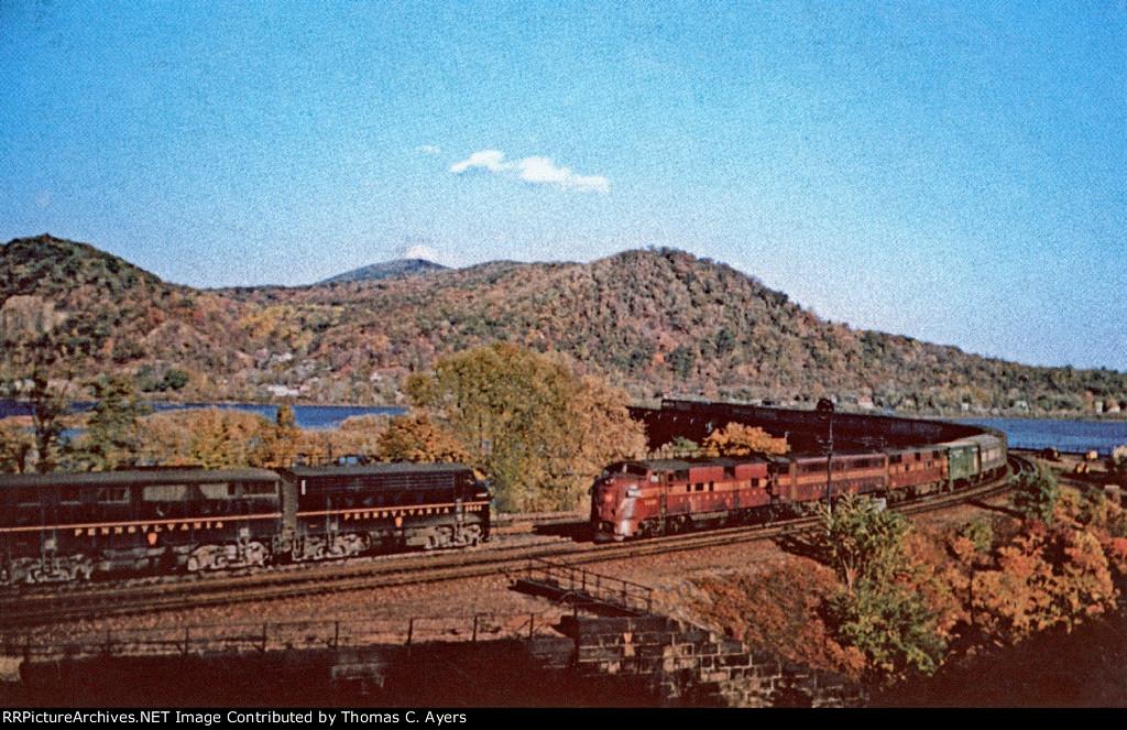 "PRR ""Pennsylvania 5849,"" EP-20, 1957"