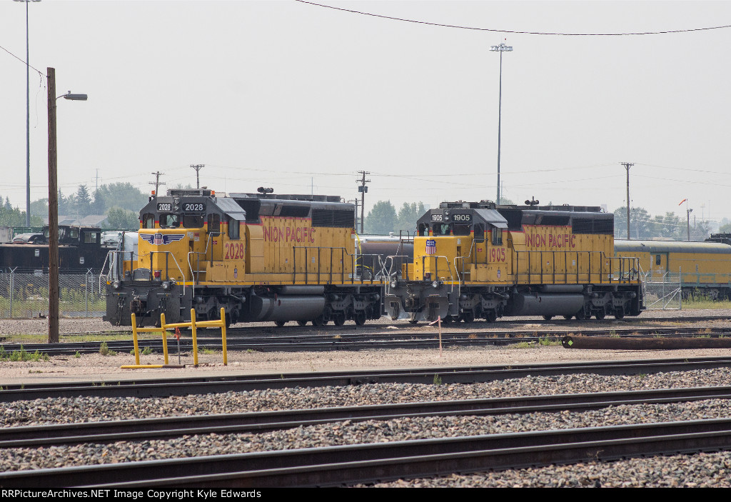 UP SD40N #2028