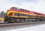 KCS ES44AC #4845 on W845