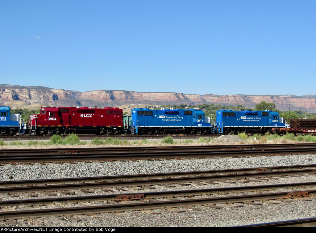 HLCX 3804, GMTX 2141 and 2156