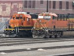 BNSF 1789 and 6848