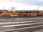 BNSF 6299 and 8476