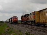 BNSF 4421 and CN 2335
