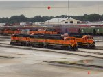 Assorted BNSF yard power