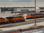 BNSF 3882 and BNSF 1407