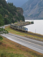 Westbound Amtrak Empire Builder