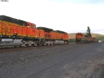 BNSF 4193 South + BNSF 8627 North