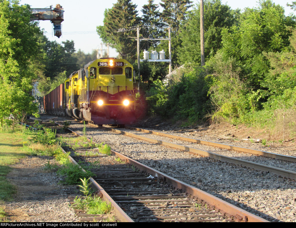 3618 leads on 7/12
