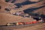 Santa Fe 998 train at Allard