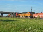 CN 8101 and BNSF 4290