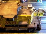 SD40-2 Being Worked on