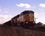 UP 8001 NB Coal Hoppers