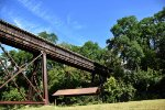 Less than a mile from the last shot sits this trestle.