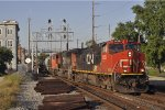 CN 2628 On CSX K 427 Southbound At Butler St