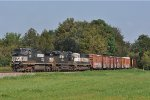 NS 9609 On NS 143 Eastbound