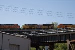 BNSF3927, UP9024 and BNSF4696