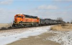 BNSF 1533 and BNSF 2691 (GP39-3R) Head West with a Local Bound for Hastings
