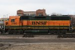 BNSF 3160 Helps out on a Local Move