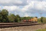 UP 6889 leads a coke train south