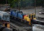 Union Railroad Slab train
