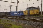 CR B23-7 1928 and SD40 6316