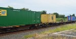 TTAX 653961 & SMALL MSC SHIPPING CONTAINER