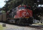 CN loaded Southbound Coal Train DPU