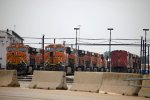 BNSF3998, BNSF6683, BNSF4964, CN2430 and others