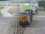 CSX 884 and 4065