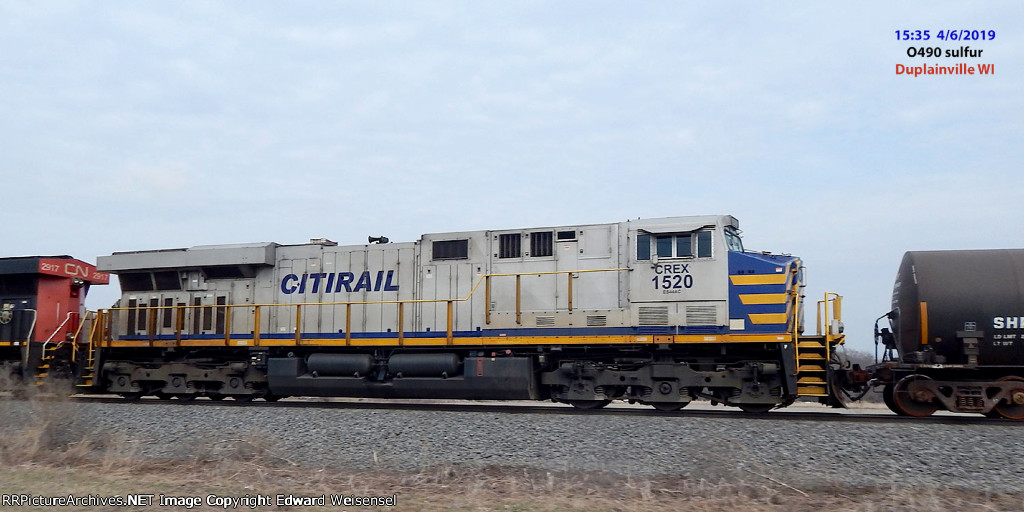 CN leased this full batch of 25