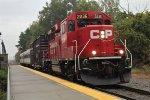 Tech Train on the Canadian Main