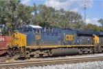 CSXT 3458 On CSX J 790 At New River Yard