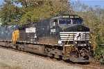 NS 9420 On NS 123 Eastbound