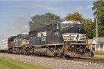 """NS 6784 NS 8391 ExCon""""s Eastbound At South Hamilton"""