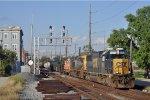 CSXT 8582 On CSX Q 507 Southbound At Butler St