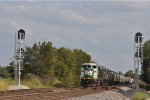 CBFX 6023 On NS 174 Westbound At The Westend Of The Siding