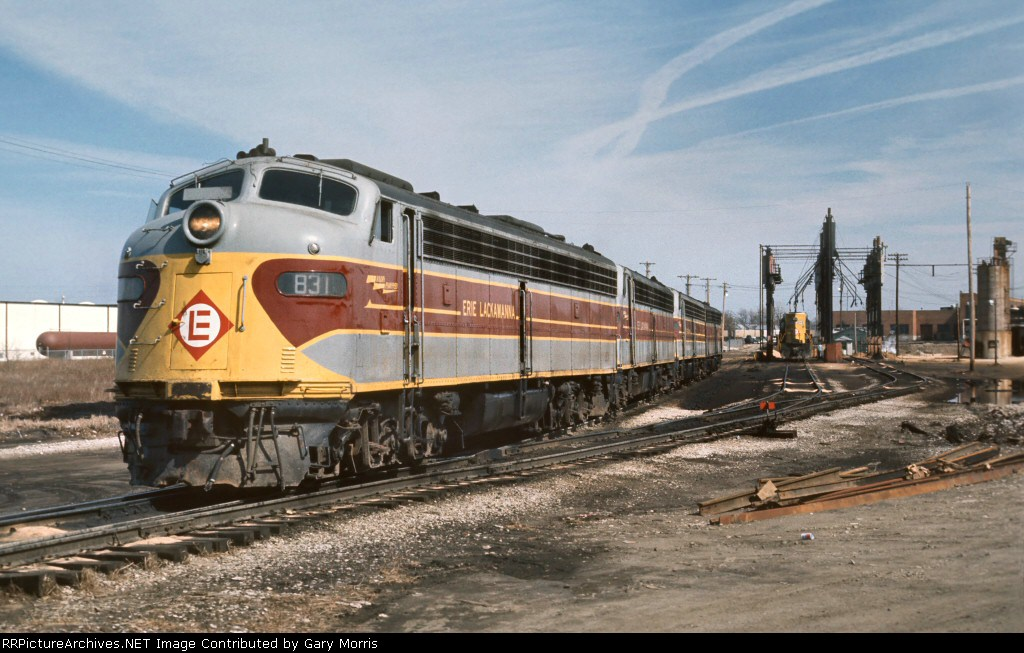 Erie Lackawanna E8 #831